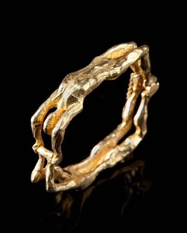 AYRTON | Gold acrobat bracelet