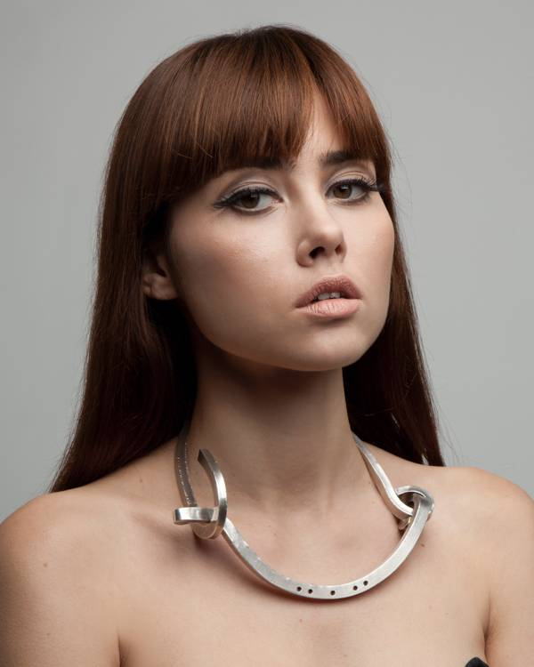 BOURGEOIS | Silver shackle necklace